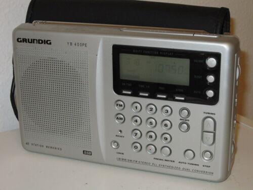 Grundig YB 400 PE World Receiver AM FM Short Medium Long Wave