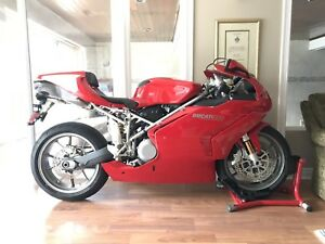 2004 Ducati 999. Low kms. 4,858 kms. Showroom Condition.