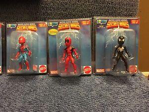 Marvel Superheroes Secret Wars mini bobble heads