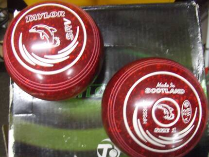 Taylor SRV Lawn Bowls Size 1 H  As New  WB 22  No grip. Inverloch Bass Coast Preview