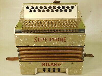 Supertone Milano button accordion in AD #293