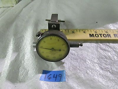 Federal Dial Indicator Model C71 Tolerance .0005 Range .125 On Clamp