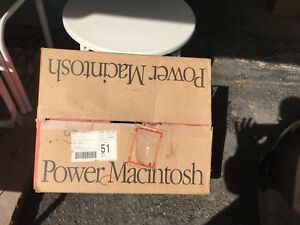 Box for Power Macintosh 7600/120 - BOX ONLY
