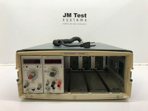 Tektronix TM 515 + DM 501, DC 504 BR