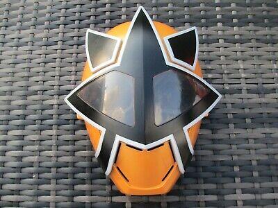 2011 BanDai GOLD POWER RANGER - Deluxe Plastic Kids Halloween Mask Full Head