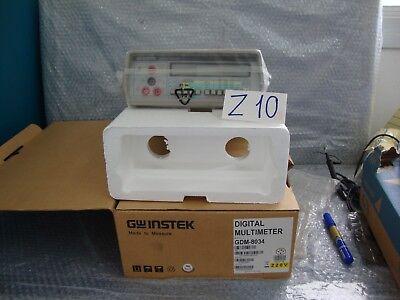 Gw Good Will Instek Gdm-8034 Digital Multimeter New