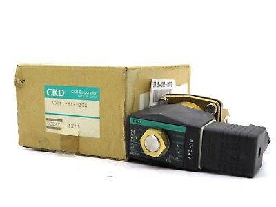 New Ckd Corporation Adk11-8a-b2gs Pneumatic Valve Adk118ab2gs