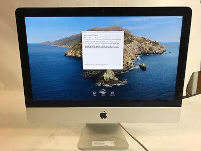"Apple 21.5"" iMac MD093LL/A A1418 Core i5-3330s 2.7Ghz 8GB Ram 1TB HD Catalina"