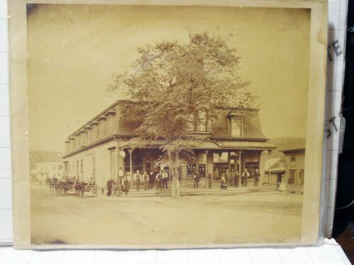 antique South Manchester CT The W.H. Cheney Store Charter Oak Street pic photo