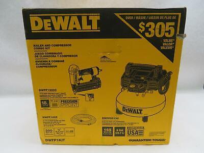 DEWALT DWFP1KIT 6 Gal. 18-Gauge Brad Nailer and Heavy-Duty P