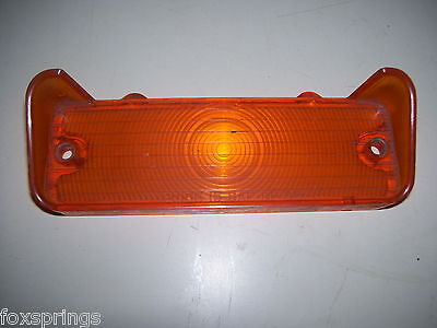 1966 CHEVY AMBER PARKING LIGHT LENS - GUIDE 15 -  5957569 - CH182