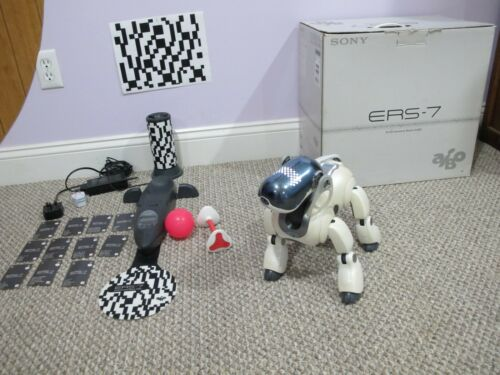 Sony Aibo ERS-7 White with Original Box