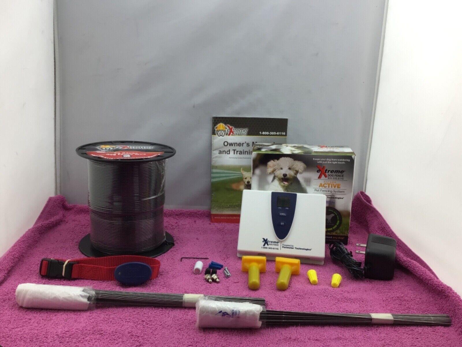 Extreme Dog Fence EAF100 Active Pet Fence System - Complete Kit READ  - $219.99