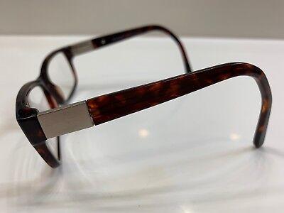 (Vintage US Army Specialist Eyeglass Frame Brown Tortoise 54[]16~110 USA Design)