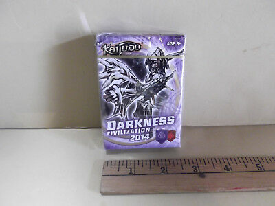 Kaijudo Darkness Civilization Ready to Play 40-Card Deck & Quick Start Guide  for sale  Fremont