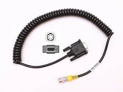 Coiled Serial Data Cable For Sokkiatopcon Total Stations To Data Collector