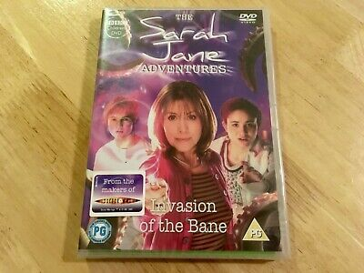 THE SARAH JANE ADVENTURES - INVASION OF THE BANE R2 DVD Brand New & (Sarah Jane Adventures Invasion Of The Bane)