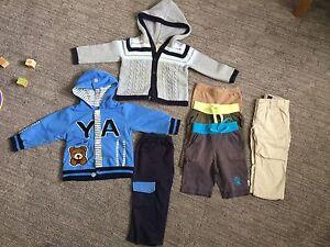 Boys 12-18m clothes lot