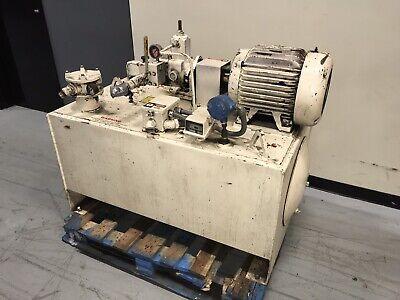 Columbia 15hp Hydraulic Power Unit W Continental Pump