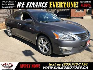 2013 Nissan Altima 2.5 S | LEATHER | MOONROOF | BACKUP CAM | HTD