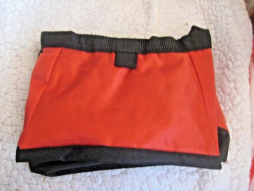 Pet Dog Puppy Training Snack Treat Bag Pouch Red NWOT Portable