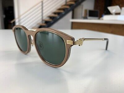 CARTIER PREMIERE DE WOOD SUNGLASSES SUPER RARE NEW 100% AUTHENTIC RETAILS (Cartier Sunglasses Men Wood)