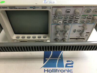 Agilenthp 54622d 100mhz 200ms As 216 Channel Mixed Signal Oscilloscope Used