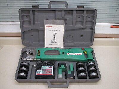 Bentac U-tier 12v Automatic Rebar Tier Tying Machine W 2 Batteries Wire Used