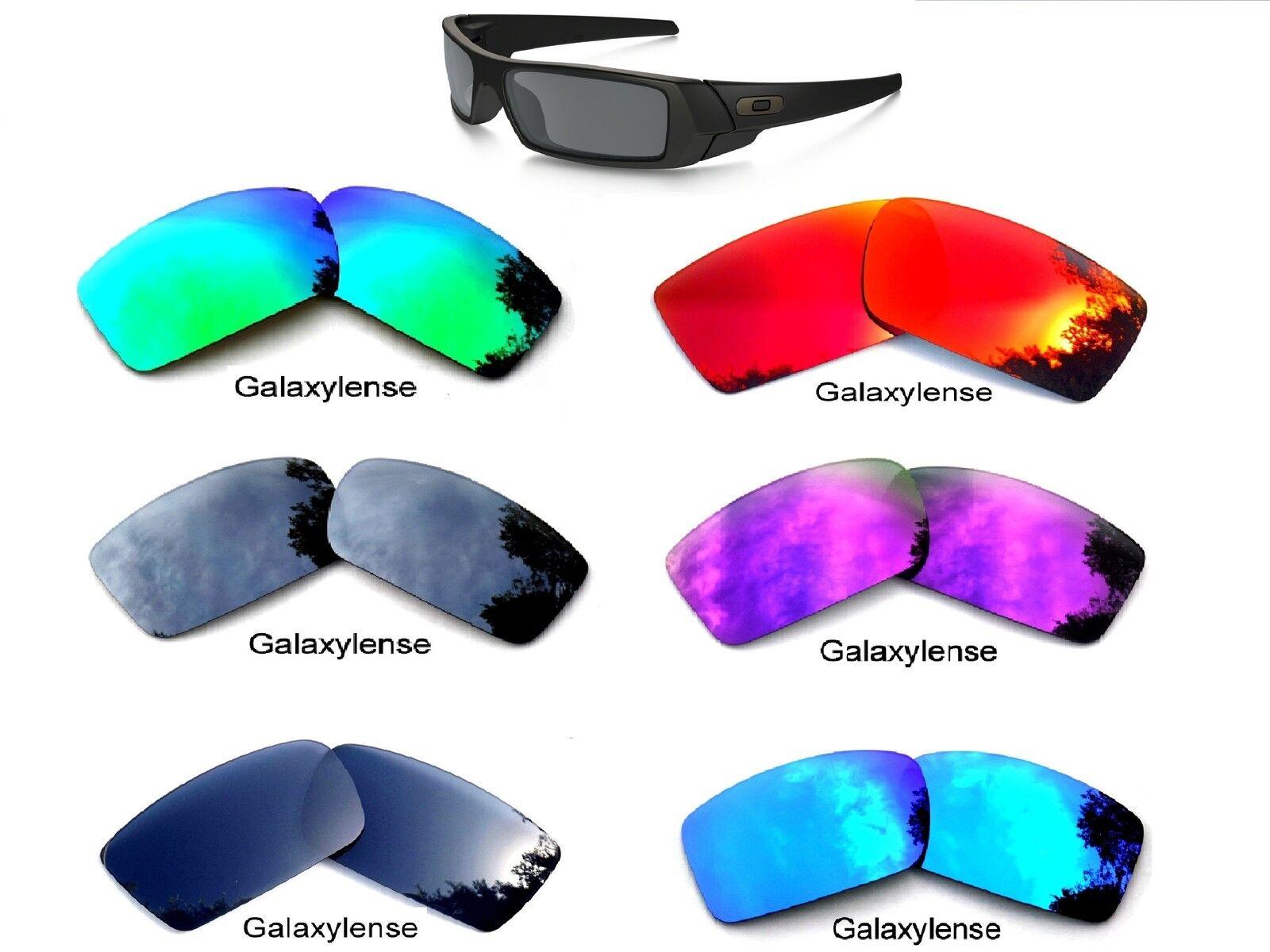 Galaxy Replacement Lenses For Oakley Gascan Black Iridium