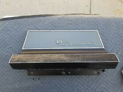 1961 1962 Lincoln Continental Glove Box Door Black