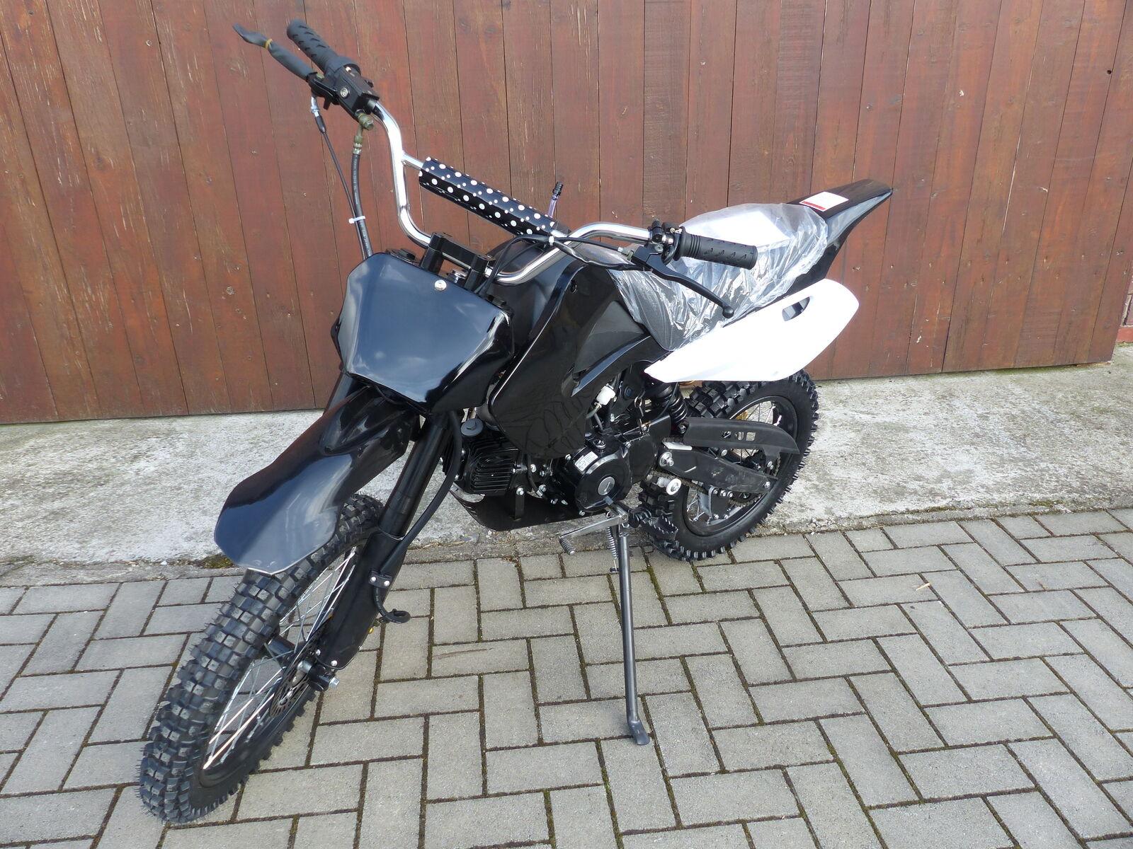 125 ccm dirt bike 17 14 r der cross vollcross pocketbike. Black Bedroom Furniture Sets. Home Design Ideas