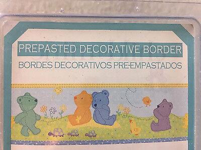6 Carters Child of Mine Teddy Bear Wallpaper Wall Border Neutral Gender 30 Yards