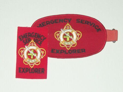 Emergency Service Explorer - armband & patch