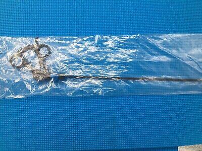New R.wolf 8393.292 Laparoscopic 5mm Atraumatic Grasping Forceps Whandle 36cm