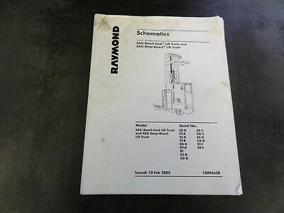 Raymond Easi Reach Fork Lift Truck Easi Deep Reach Lift Truck Schematics Manual