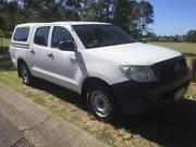 2008 TOYOTA WORKMATE DUAL CAB HILUX AUTOMATIC Sinnamon Park Brisbane South West Preview