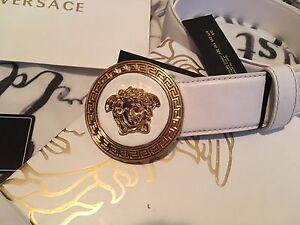 Versace Medusa belts