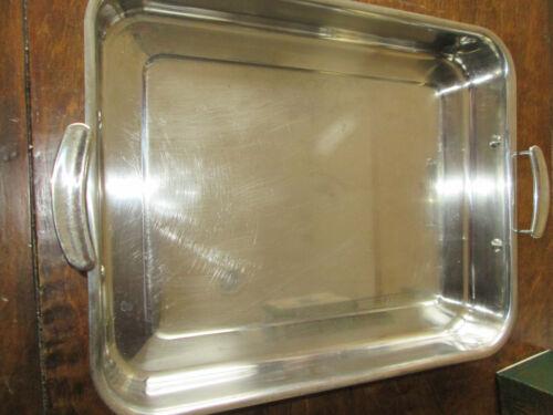 VOLLRATH STAINLESS STEEL PAN 14 X 11 X 2