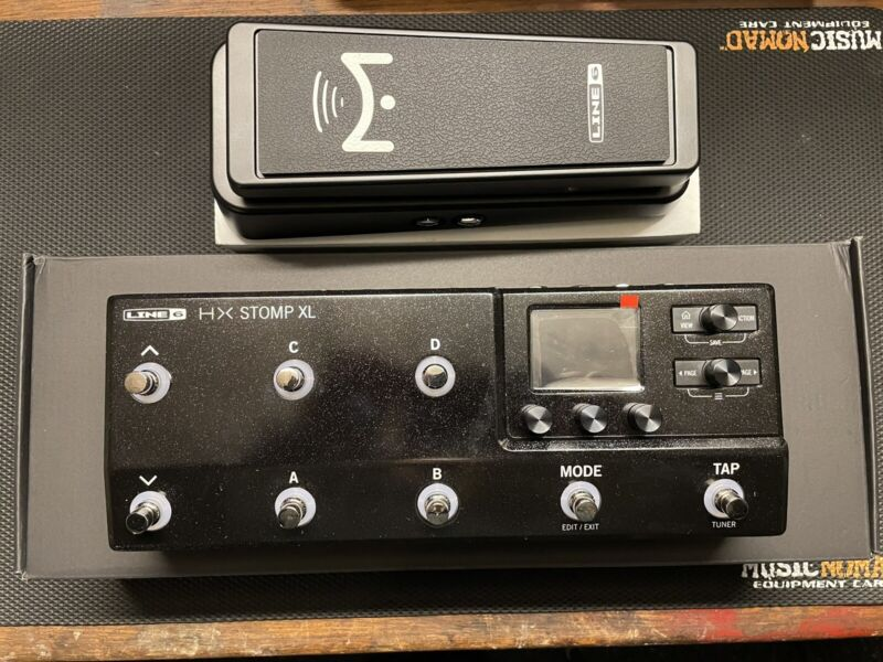 Line 6 HX Stomp XL Multi-Effects Pedal AND Mission Helix Expression Pedal