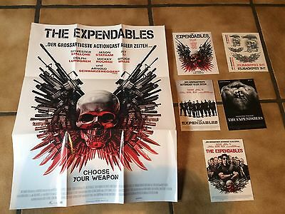the expendables - Poster, tattoos, postkarten neu