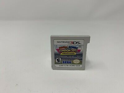 Mario & Sonic at the London 2012 Olympic Games - Nintendo 3DS  - Game Cart Only