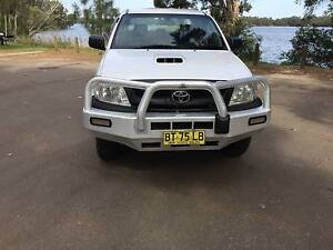 2008 TOYOTA HILUX SR DUAL CAB 4X4 DIESEL Lansvale Liverpool Area Preview