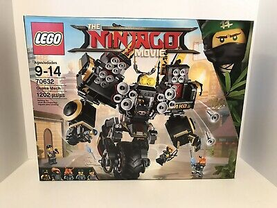 NEW LEGO The NINJAGO Movie 70632 QUAKE MECH Set Building Toy Retired