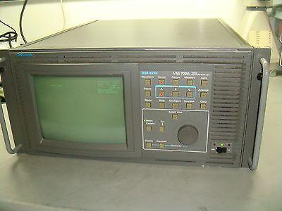 Tektronix Vm700a Video Measurement Set Television Test System Tq278