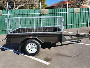 BOX TRAILER 7X5 CAGED AUSTRALIAN MADE Morphett Vale Morphett Vale Area Preview