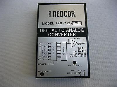 Digital To Analog Converter Redcor 770712 H 770-712-120