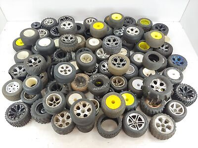 *HUGE!!* Lot of Used/Misc 1/10 Stadium Truck Tires and Wheels Proline Jconcepts