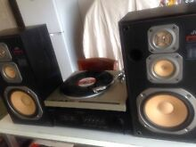 Old school stereo turntable Redbank Plains Ipswich City Preview