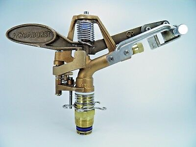"XCAD SUPER HEAVY DUTY X-65 1"" ALL BRASS FULL/PART CIRCLE BRASS IMPACT SPRINKLER"