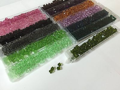 Swarovski 5601 Crystal Cube Beads 6mm  SIX CUBES IN A PACKAGE (Swarovski 6 Mm Cube)